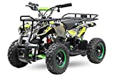 Elektro Kinderquad Torino Basic 1000W 48V 6' Miniquad Quad ATV Bike 1161013 (Gelb)