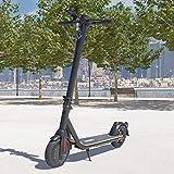 Viron E-Scooter mit Straßenzulassung Elektro Scooter ABE Aluminium Elektroroller Faltbar Roller EScooter eKFV Zulassung Führerscheinfrei (schwarz)