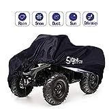 SIGHTLING Quad ATV Abdeckplane Fahrzeug Abdeckung Schutz Cover Winterfest Staub Regen UV-Schutz, 210 * 120 * 115cm